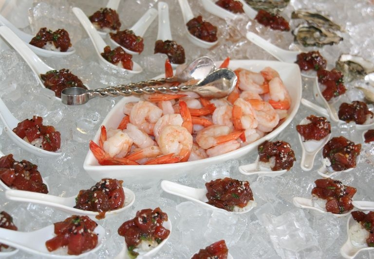 Shrimp and Ahi Tuna