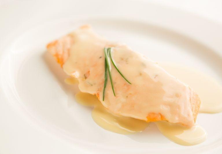NW Chardonnay Baked Salmon