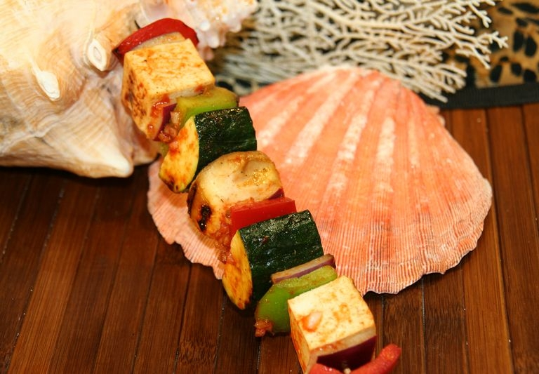 Chinese Grilled Tofu and vegetable S