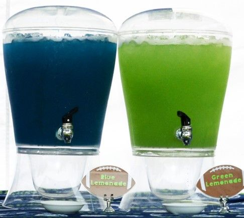 Blue and Green Lemonade